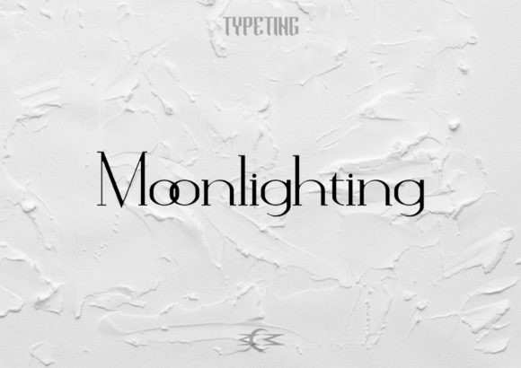 Moonlighting Font