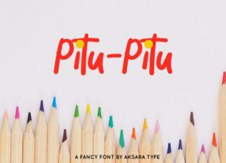 Pitu-Pitu Font