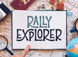 Rally Explorer Font