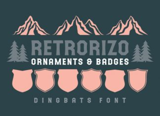 Retrorizo font