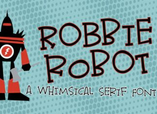 Robbie Robot Font