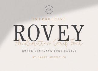 Rovey Duo Font