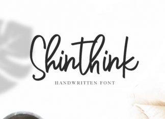Shinthink Font