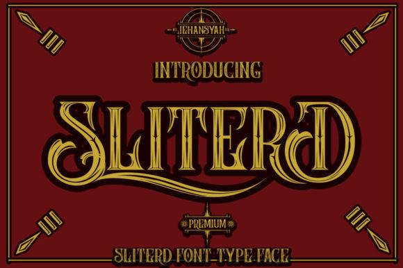 SliterD Font