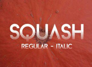 Squash Effect Font