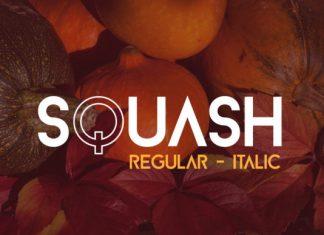 Squash Font