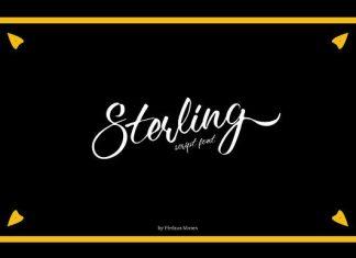 Sterling Font