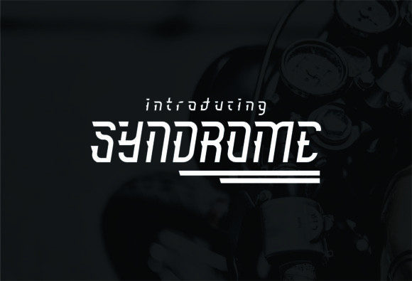 Syndrome Font