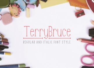 Terry Bruce font