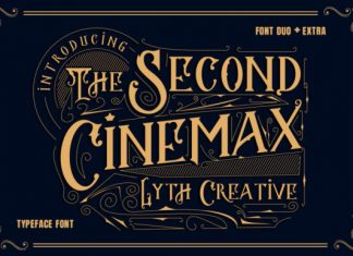 The Second Cinemax Font