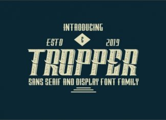 Tropper Family Font