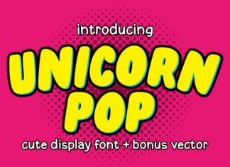 Unicorn Pop Font