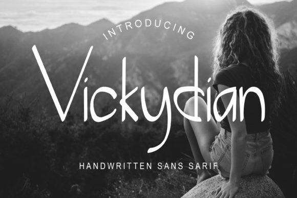 Vickydian Font