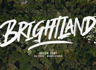 Brightland Font