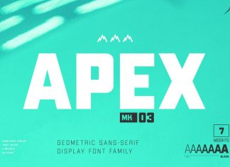 APEX Mk 3 - Geometric Display Type Family