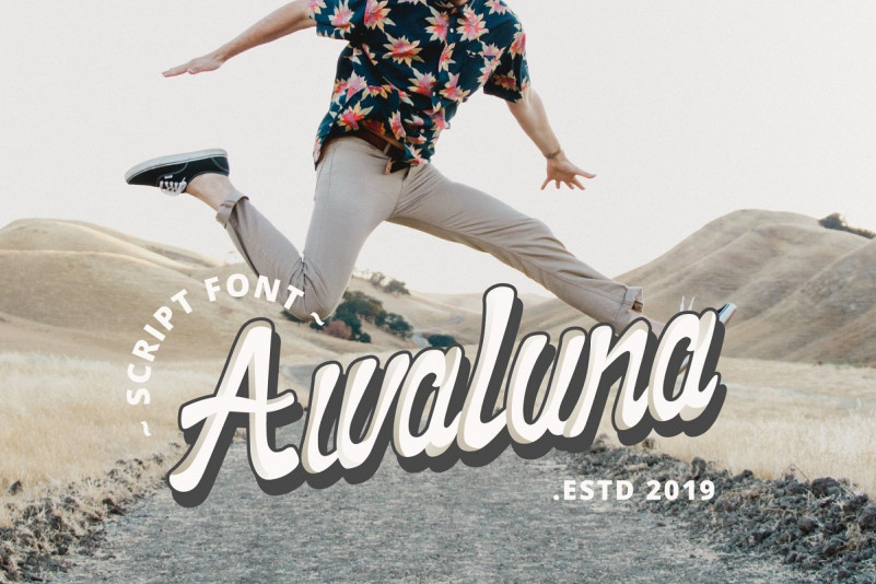 Awaluna Font