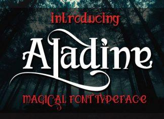 ALadine Other Font
