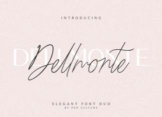 Dellmonte - Elegant Font Duo