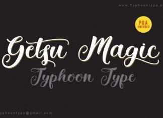 Getsu Magic font