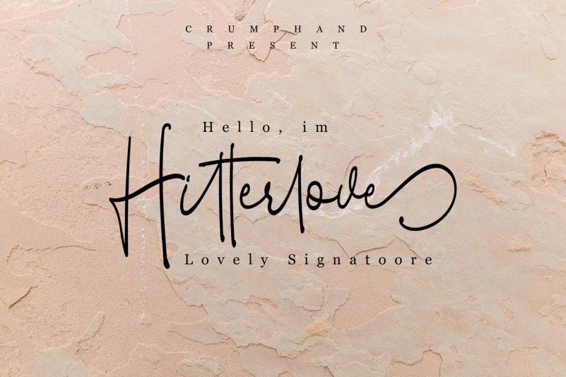 Hitterlove   Lovely Script