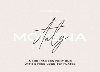 Modena | Duo with Font
