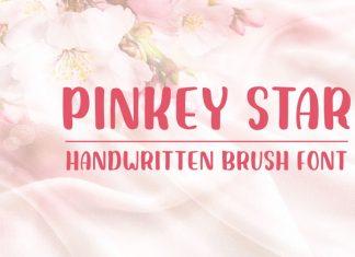 Pinkey Star - Handwritten Brush Font