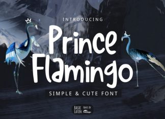 Prince Flamingo Font