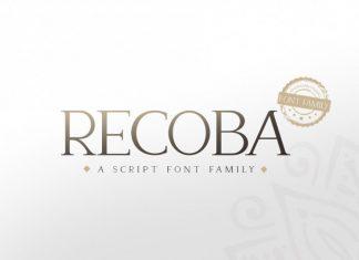 Recoba Font Family
