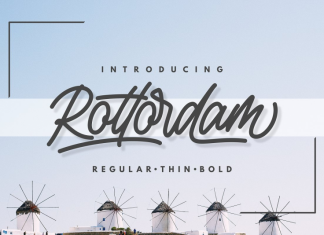 Rottordam - Regular, Thin, and Bold