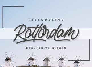 Rottordam - Regular, Thin, and Bold