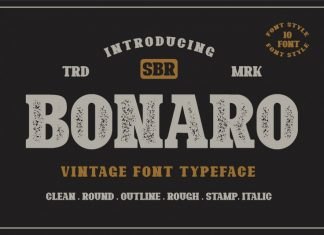 Bonaro Font Family