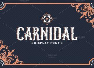 Carnidal Typeface Font