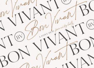 Bon Vivant Collection Font