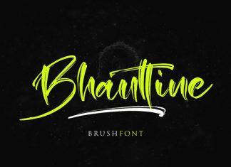Bhauttine Font
