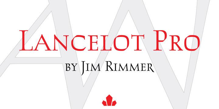 Lancelot Pro Font Family