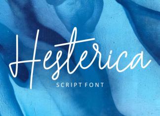 Hesterica Font