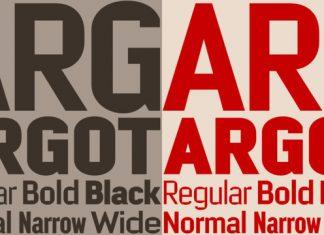 Argot Font Family