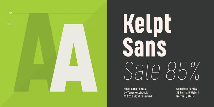 Kelpt Sans Font Family - iFonts xyz