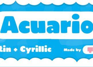 TOMO Acuario Font