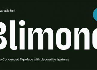 Blimone Font Family