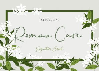 Roman Care Script Font
