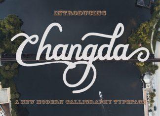 Changda Script Font