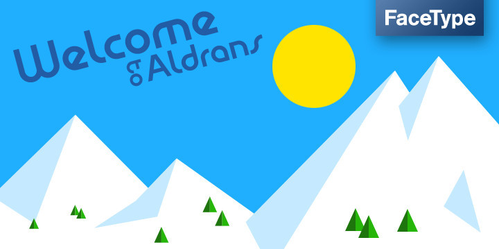 Aldrans Font Family