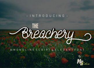 The Breachery Script Font