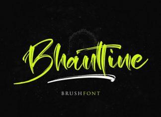 BhauttineScript Font