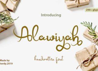 Alawiyah Font