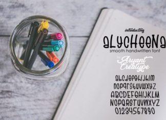 Alychenna Font