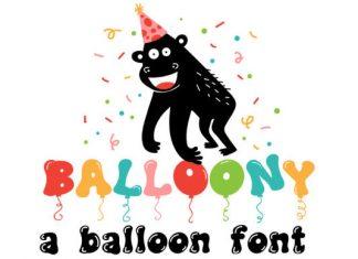 Balloony Font
