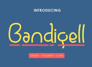 Bandigell Font