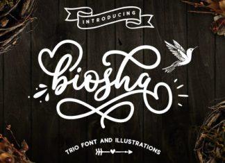 Biosha Font
